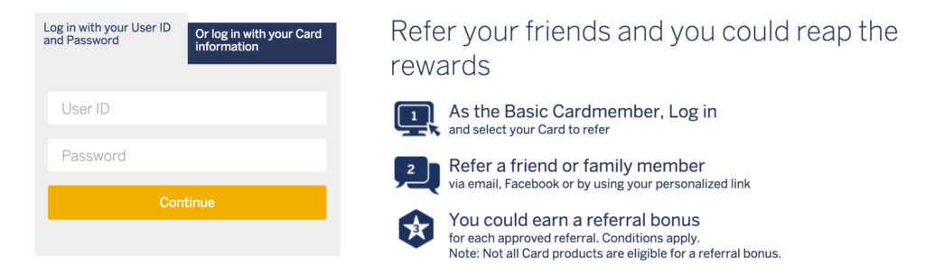 The 51 best referral program examples of 2016 referral saasquatch 6 american express referral marketing example altavistaventures Choice Image