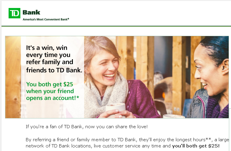 6-td-bank-ecommerce-refer-a-friend-marketing-landing-page-example