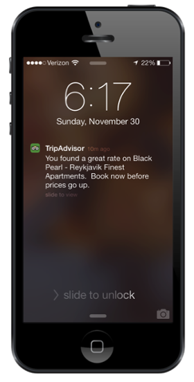 One Exle Of A Push Technique Is Mobile Notifications E G Starbucks Sending To Your Phone Daily Deal